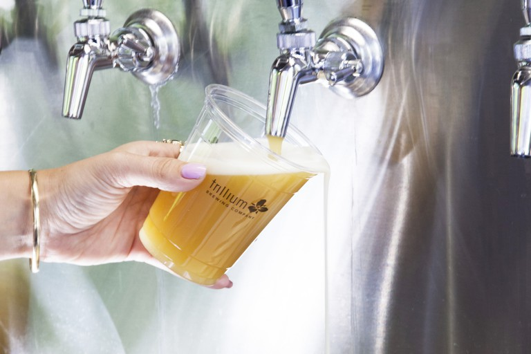 Trillium is one of the top-rated craft brewers in the country