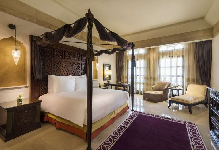 Luxurious rooms at The Ritz-Carlton Hotel Doha