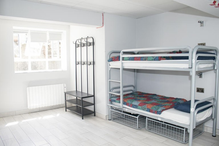The rooms at Abbey Court Hostel are basic but comfortable