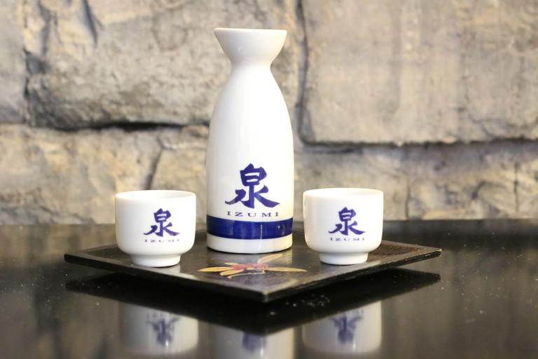 Sake at Izumi