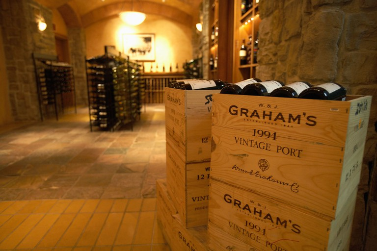 The Wine Cellar and Tasting Room is home to about 3,000 bottles