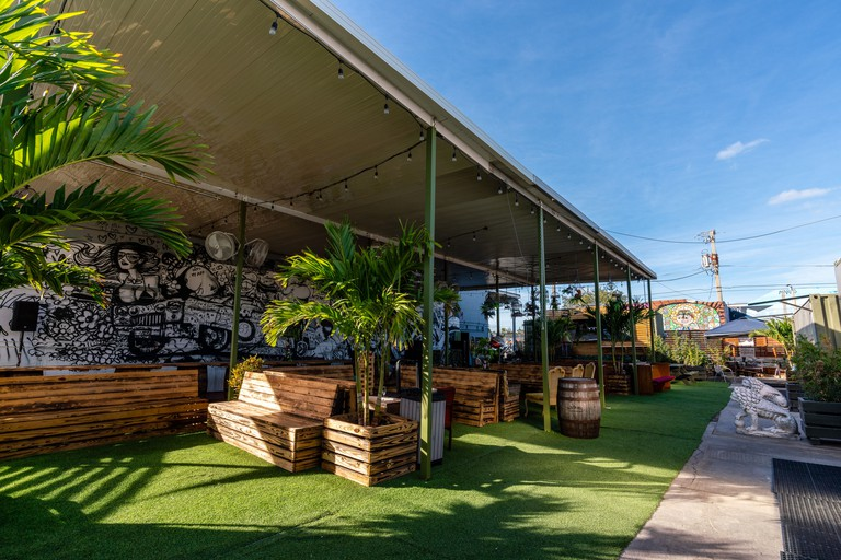 You can exchange your vintage goods for a drink at Barter Wynwood
