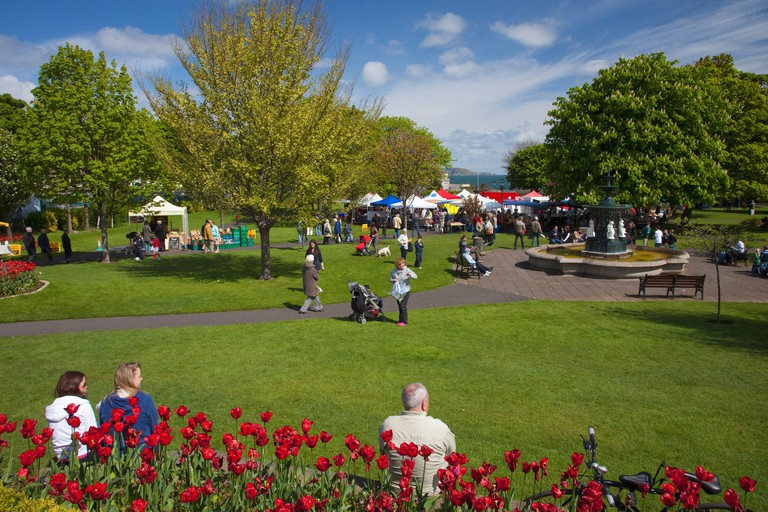 The People's Park Market is a firm favourite with Dubliners