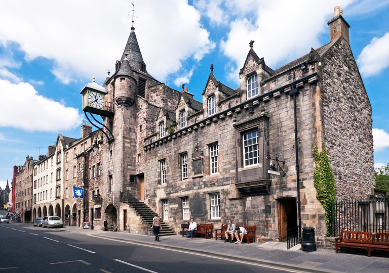 Canongate Tolbooth and The People's Story Museum in Canongate The Royal Mile Edinburgh