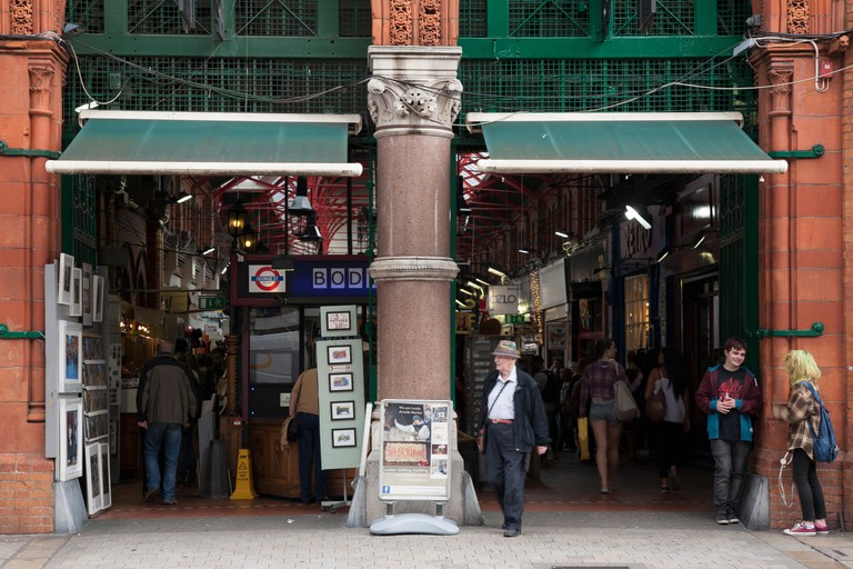 George's Street Arcade has been in operation since the late 1800s