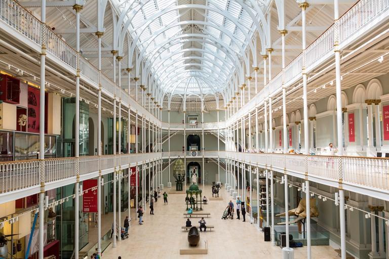 Grand Gallery, National Museum of Scotland, Edinburgh, Edinburgh, Scotland