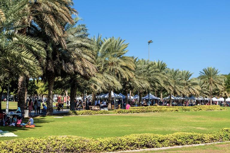 Dubai Flea Market is located in Zabeel Park