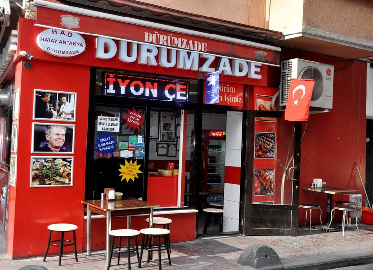 Dürümzade is open late, so it's the perfect place to go for an evening snack