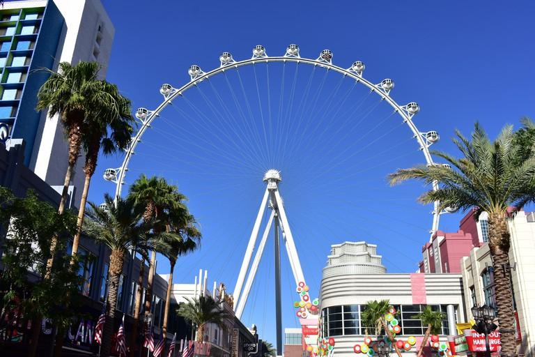 High Roller wheel Las Vegas