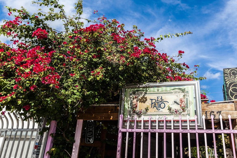 Catch live salsa at the Colombian-inspired El Patio Wynwood