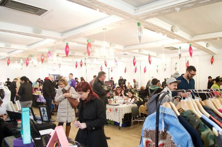 Pink Market in Toronto