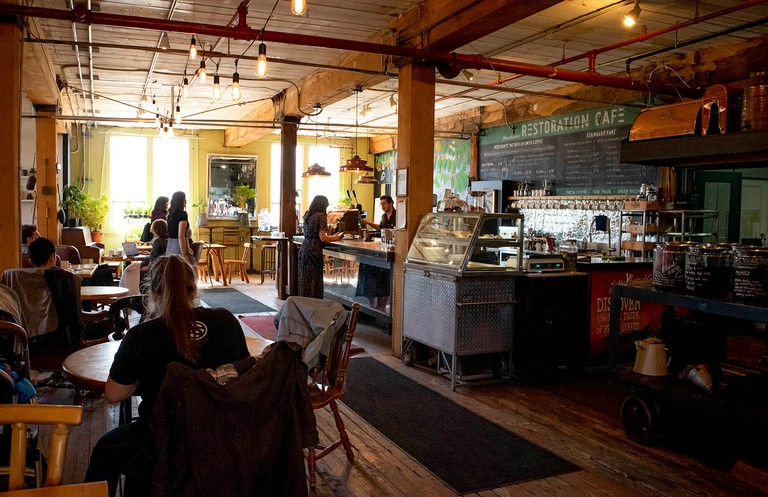 Inside Merchants of Green Coffee