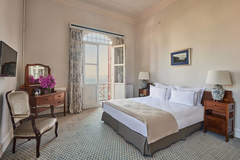 Some rooms at Splendid Palace offer views of the Marmara Sea