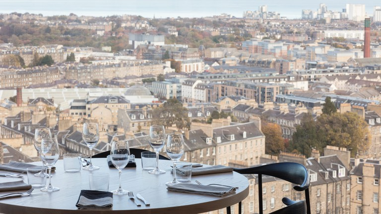 The Lookout, Edinburgh - The Lookout by Gardener's Cottage offers diners spectacular views