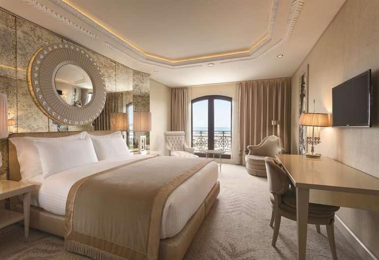 Wyndham Grand Istanbul Kalamis Marina Hotel offers sea, city or marina views