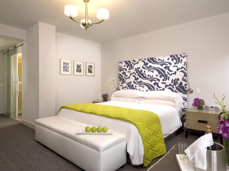 Get comfortable at the stylish Hotel Breakwater