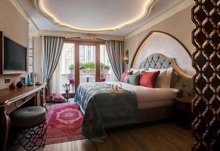 Romantic suite at Romance Istanbul Hotel