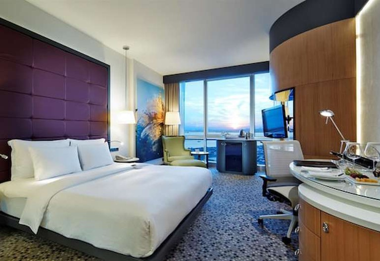 DoubleTree by Hilton Istanbul Moda's guest rooms feature a host of amenities