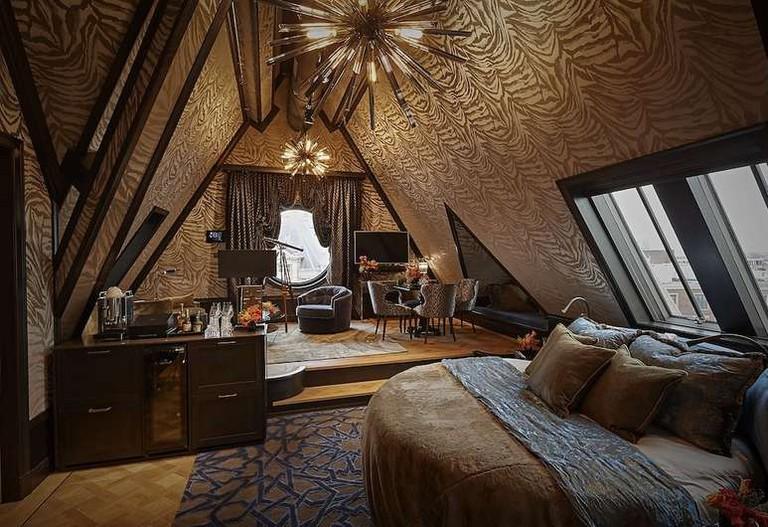 Rooftop suite at Hotel TwentySeven