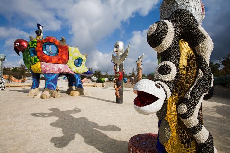 Niki De Saint Phalle s Queen Califia s Magical Circle Escondido California United States of America