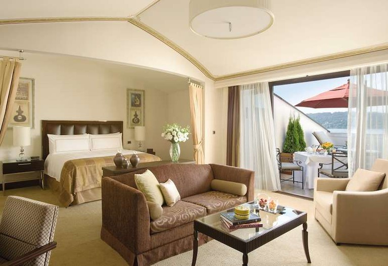 Suite at Four Seasons Hotel Istanbul at the Bosphorus