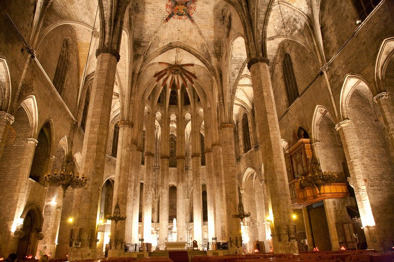 The Santa Maria del Mar is a Catalan Gothic architectural wonder