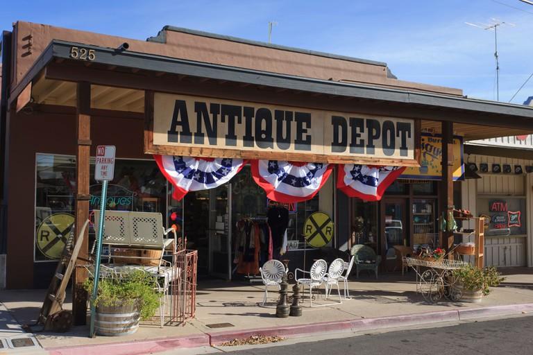 Antique Store Boulder City Nevada