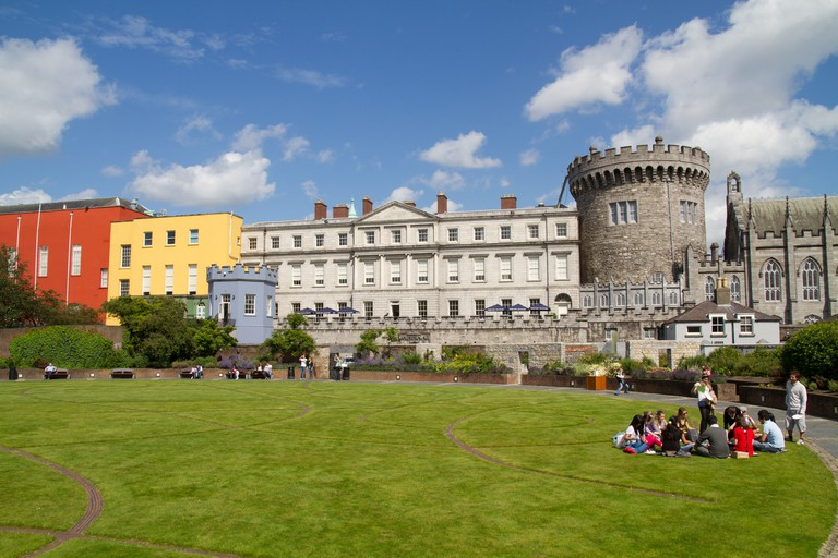 Explore Dublin Castle and the surrounding grounds