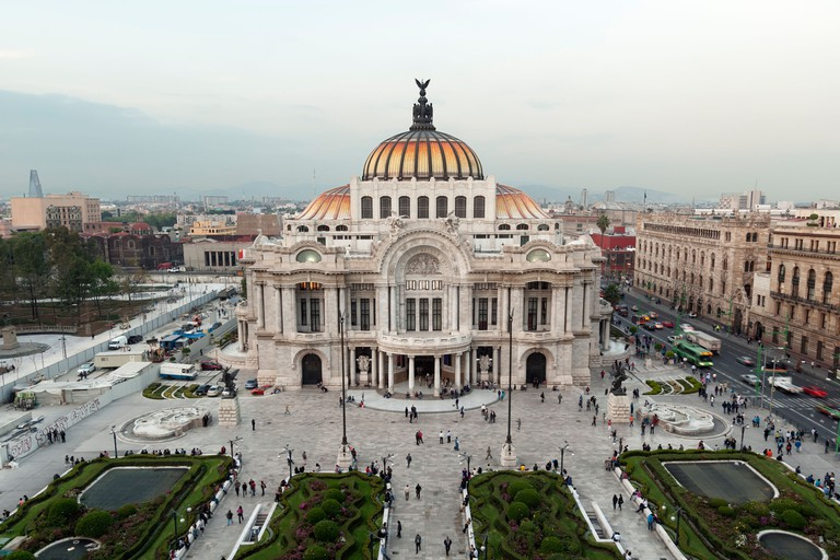 Palace Bellas Artes, Mexico City