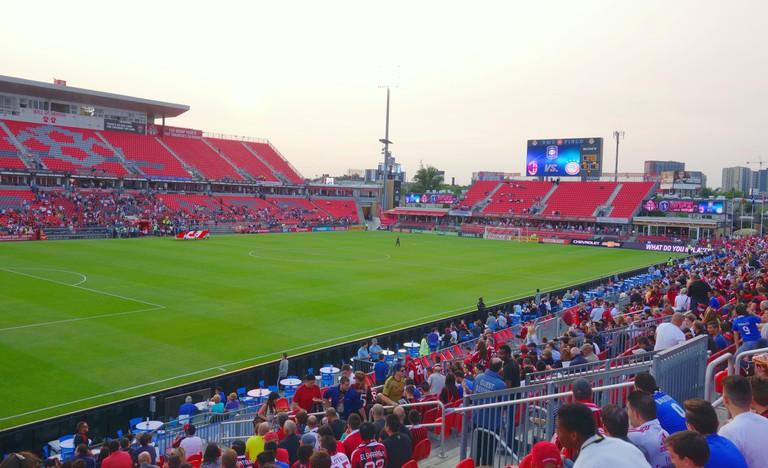 BMO Field stadium in Toronto, Canada