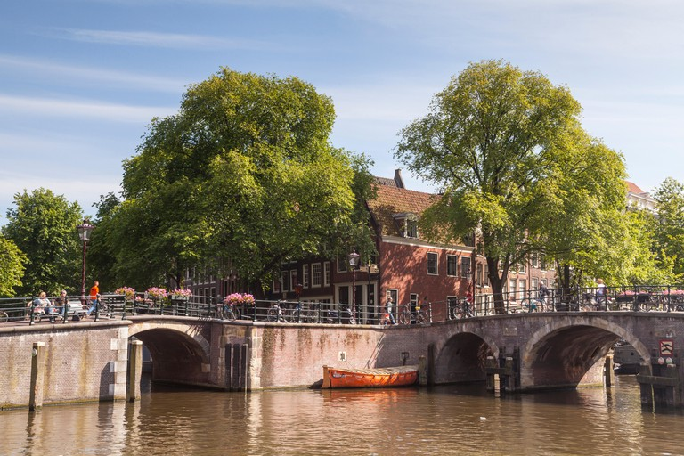 The Brouwersgracht canal in Amsterdam. The area is designated as a World Heritage Site by UNESCO.