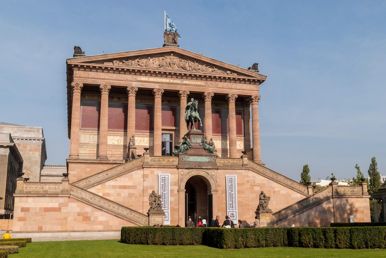 The Alte Nationalgalerie houses pieces by Manet, Monet and Cézanne