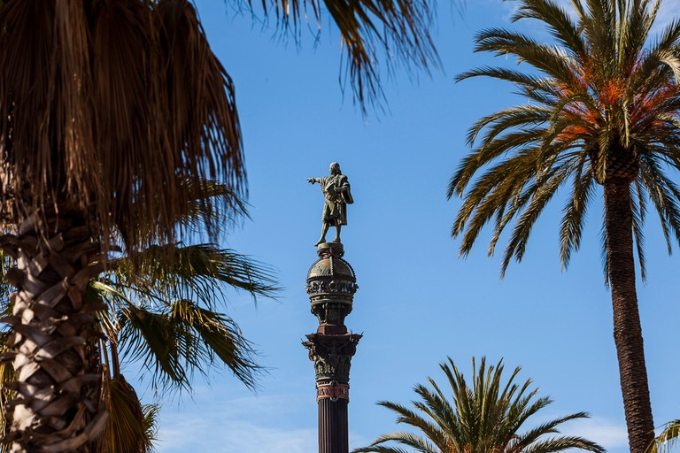 The Mirador de Colom is a monument dedicated to explorer Christopher Columbus