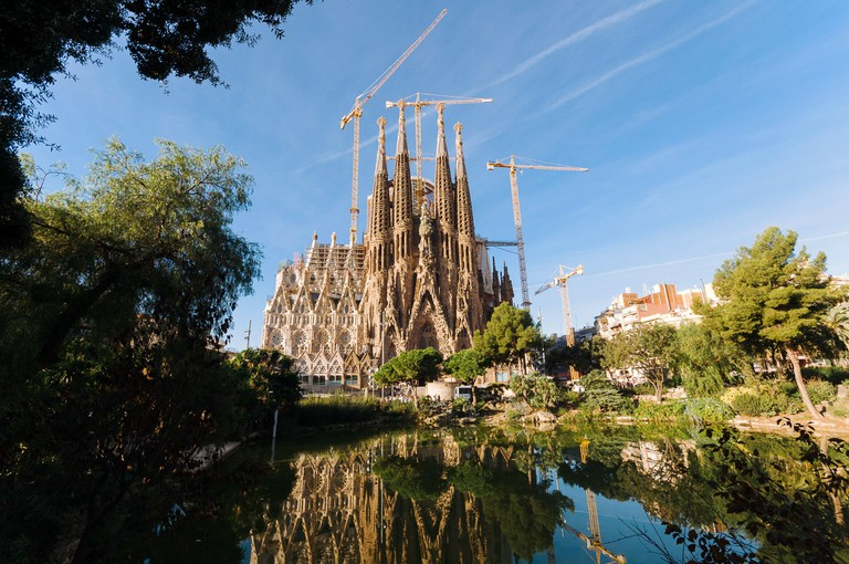 The Sagrada Família is an architectural masterpiece by Antoni Gaudí