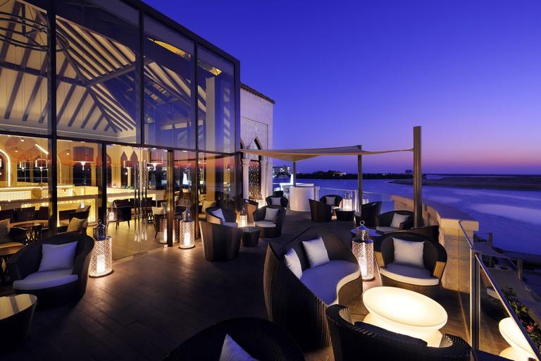 Upper Terrace at Byblos Sur Mer, Abu Dhabi.