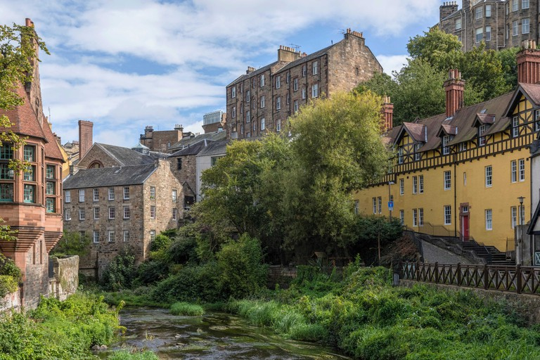 The Dean Village is nearly 800 years old