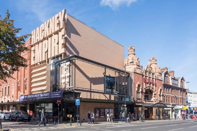 Hackney Empire Theatre, Mare Street, Hackney Central, London Borough of Hackney, Greater London, England, United Kingdom
