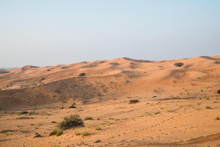 Rub Al Khali desert, Fujairah.