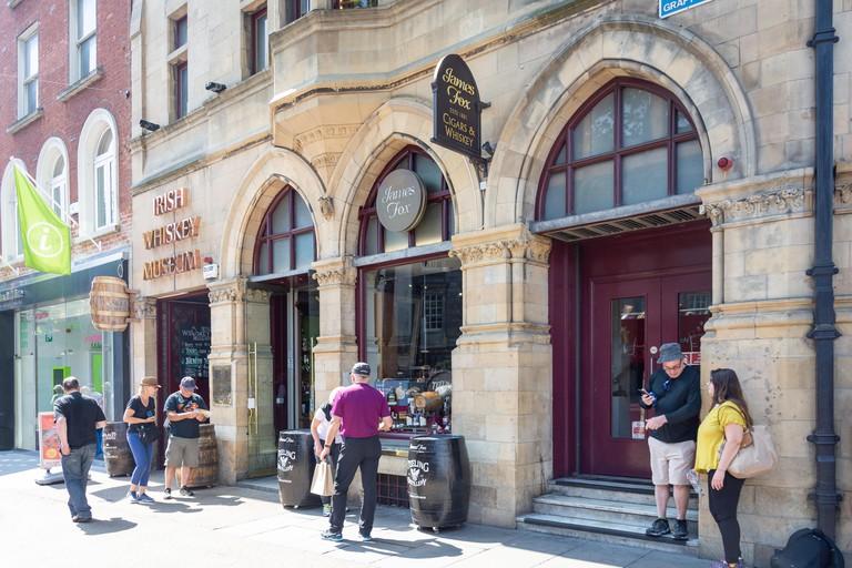 Irish Whiskey Museum, Grafton Street, Dublin.