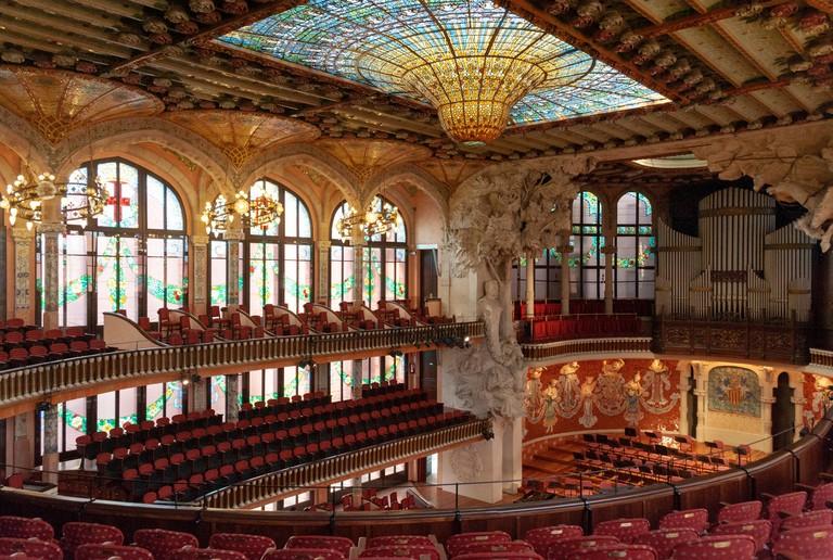 Palau de la Musica Catalana, Barcelona.
