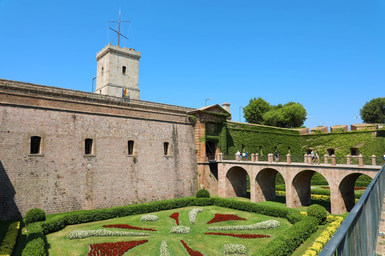 Montjuïc Castle dates back to the 17th century