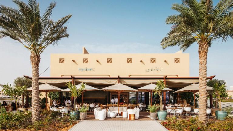 Exterior of Tasha's, Al Bateen
