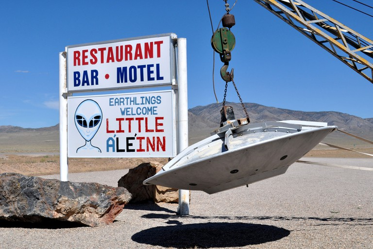 Area 51 and the Extraterrestrial Highway