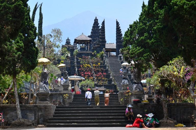 Pura Besakih temple Bali, Indonesia.
