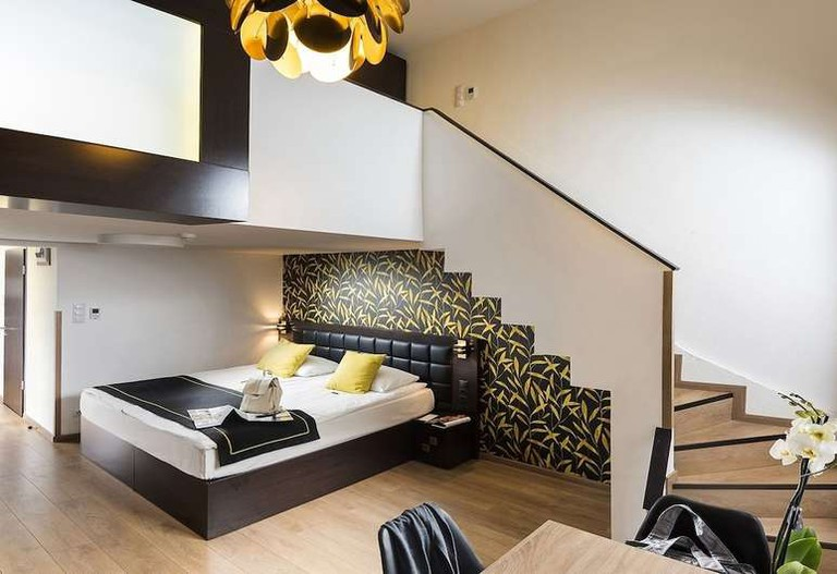 Guest room at Opera Garden Hotel & Apartments