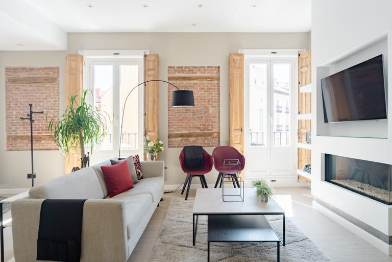 This commodious apartment is central enough to see some of Madrid's most beautiful landmarks