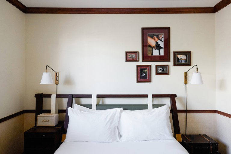 Rooms have Egyptian cotton sheets, Le Labo products and Marshall speakers