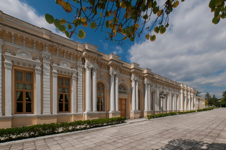Yildiz Palace is a vast complex of former imperial Ottoman pavilions and villas in Istanbul, Turkey