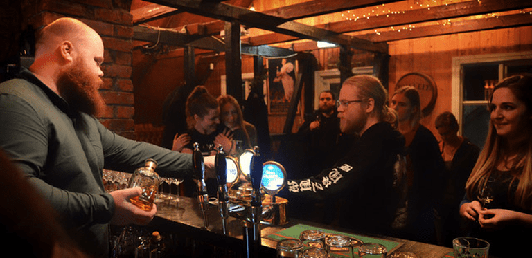 Try some Icelandic whiskey at Dillon Whiskey Bar