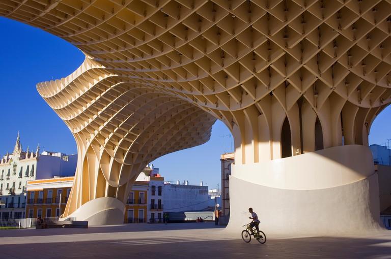 Metropol Parasol,in Plaza de la Encarnacion,Sevilla,Andalucia,Spain